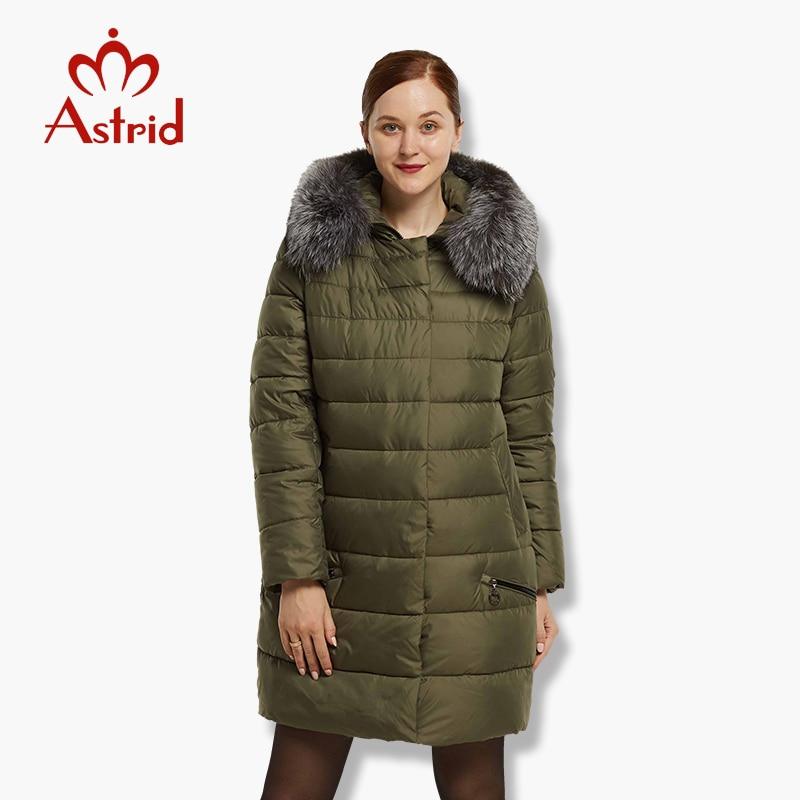 Astrid Big Size Winter Women Jacket Coat Warm down jacket Women s large Parkas New Winter