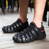 2018 new Rome men shoes lightweight simple cool breathable shoes one shoes three wear fashion wild shoes for outdoor or home