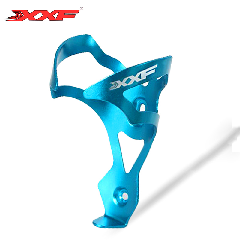 XXF Road MTB Road Bike Bicycle Aluminum Alloy Water Bottle Cage Cycling Drink Bottle Holder Bicycle Bike Accessories 5 colors universal bike bicycle aluminum alloy water bottle holder rose red