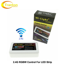2.4G RF RGBW led strip light controller, Mi Light  RGBW control receiver,1pcs/lot