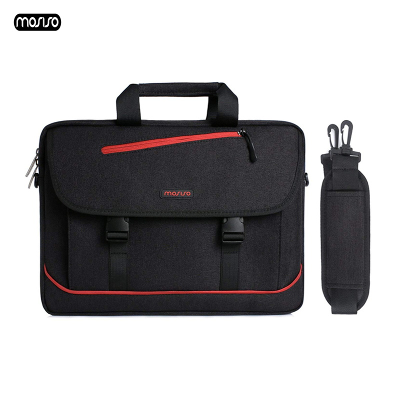 MOSISO Laptop Shoulder Bag 13.3 Inch Waterproof Notebook Bag for  Macbook Air 13 Case New Pro 13 Computer Handbag Briefcase Bags-in Laptop Bags & Cases from Computer & Office