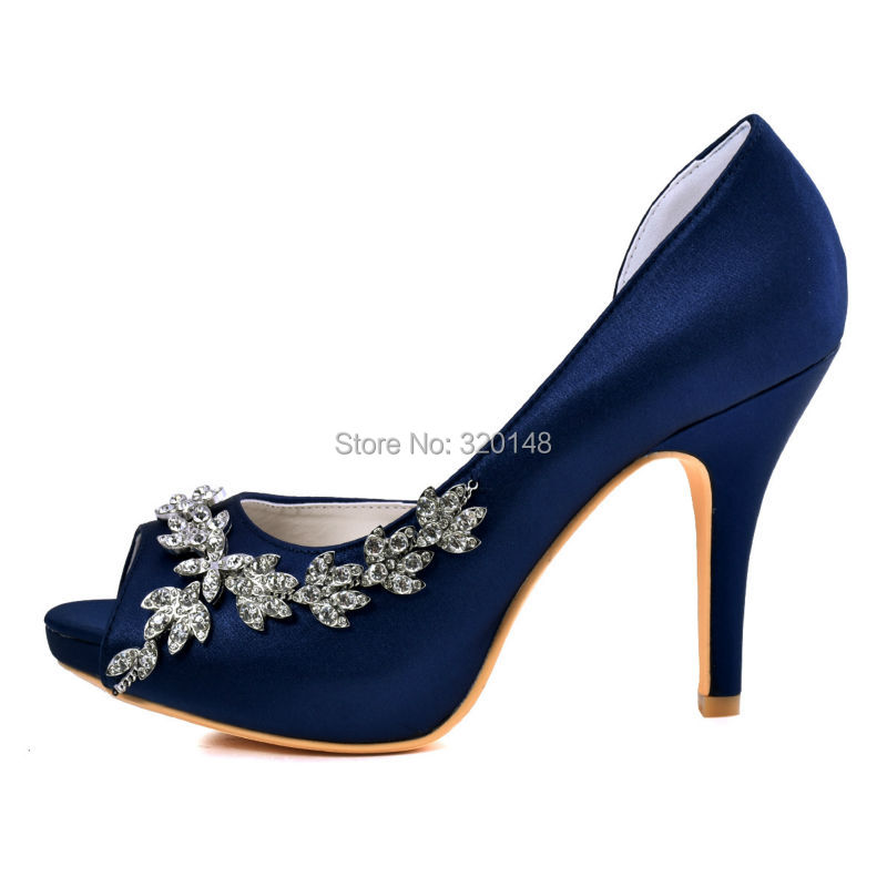 Aliexpress.com : Buy Woman High Heel Platform Bridal Wedding Shoes ...