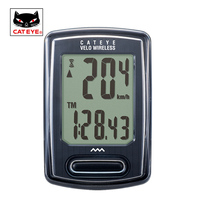 CATEYE Bike Computer Wireless Cycling Computer Bicycle Waterproof Kilometers Odometer Stopwatch Speedometer Bicycle Accessories