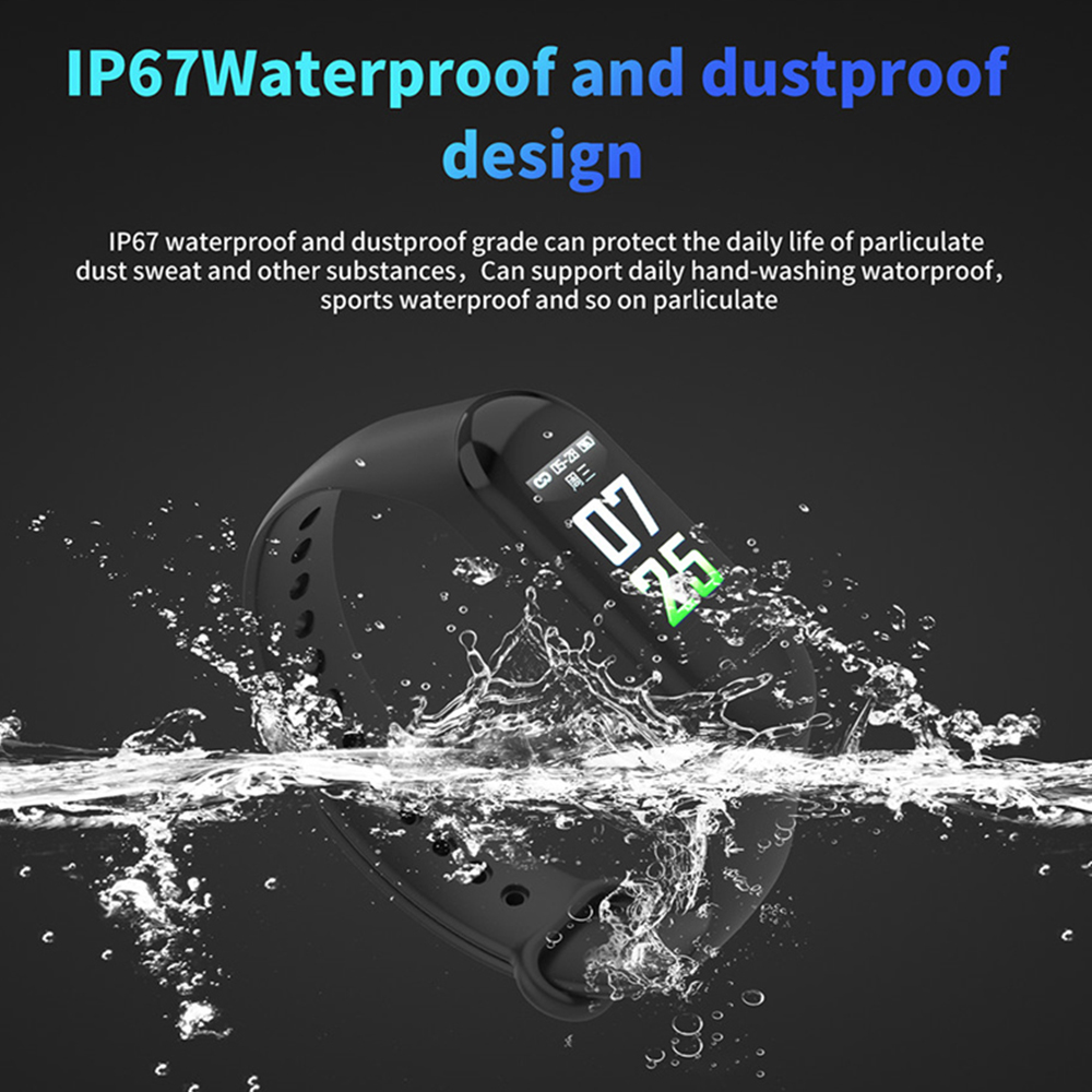 Waterproof Fitness Tracker 3