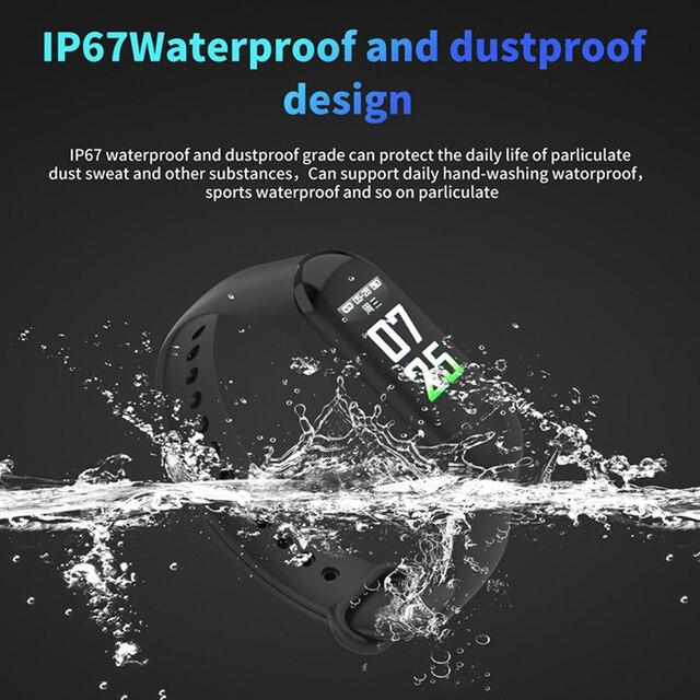 Smart Band Waterproof Fitness Tracker  3