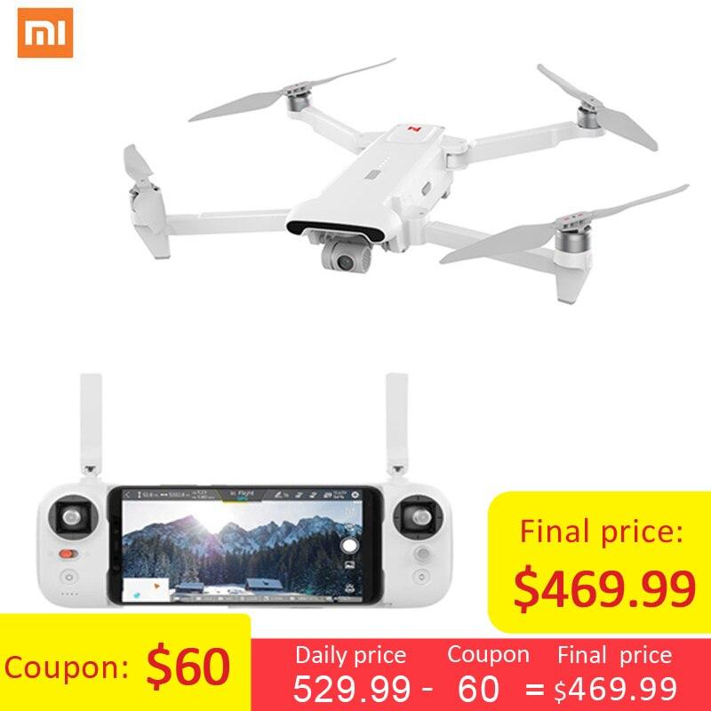 Xiaomi FIMI X8 SE 5 KM FPV con cardán de 3 ejes 4 K Cámara GPS 33 minutos tiempo de vuelo RC Drone Quadcopter RTF