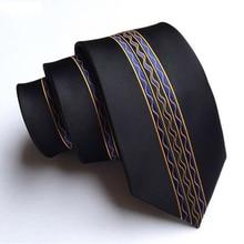 RBOCOTT мужской модный обтягивающий галстук 6 см с цветочным узором в горошек и в полоску, галстук в повседневном стиле, вечерние галстуки, галстуки для шеи