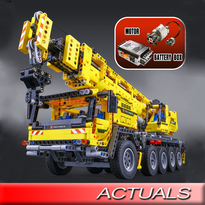 Lepin 20004 Technic Series Mobile Crane Mk Ii Building Blocks With