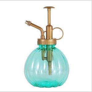 Image 5 - 350 ml 식물 꽃 물을 냄비 홈 스프레이 병 정원 핸드 프레스 물 분무기 플라스틱 분재 스프링 쿨러 병 컨테이너