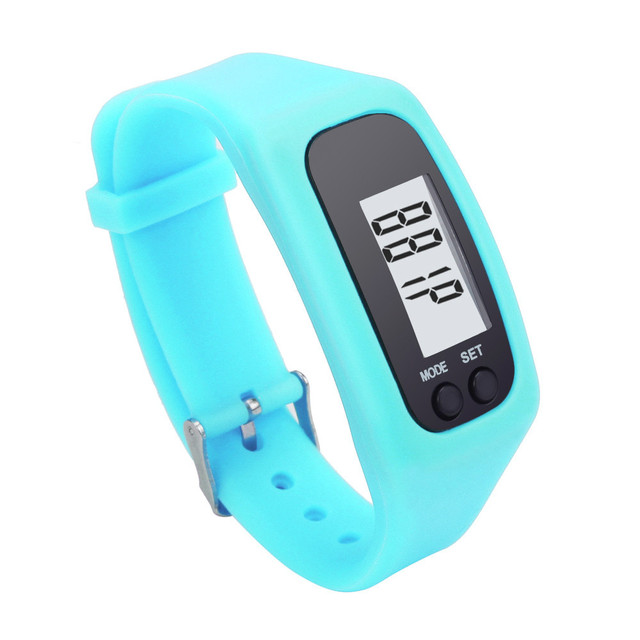 New Arrival Electronic Waterproof Digital LCD Run Step Pedometer Portable Walking Calorie Counter Distance Bracelet Pedometers