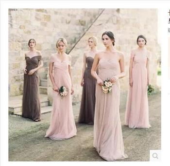 Long style banquet bridesmaid dresses in the new bridesmaid dresses for the 2018 new bridesmaid dresses. фото