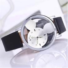 75fb0a557be Relógio De Quartzo Das Mulheres de Couro da marca Crianças Da Menina do  Menino Crianças Pulseira Da Moda Relógio De Pulso Relógi.