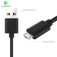 FLOVEME Micro USB Cable For Android Device Two Forms Of Micro Interface Data PVC Aluminum For Samsung Galaxy For Xiaomi LG Cable