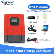 30A MPPT Charger-Regulator Controllers Solar-Charge PV 50A 60A for Choose Recognition-Wifi-Function