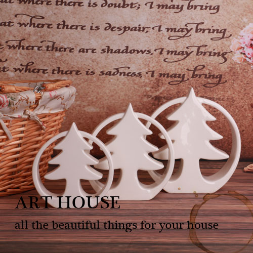 ceramic christmas tree home decor crafts room decoration ceramic handicraft porcelain figurines christmas articles decorations