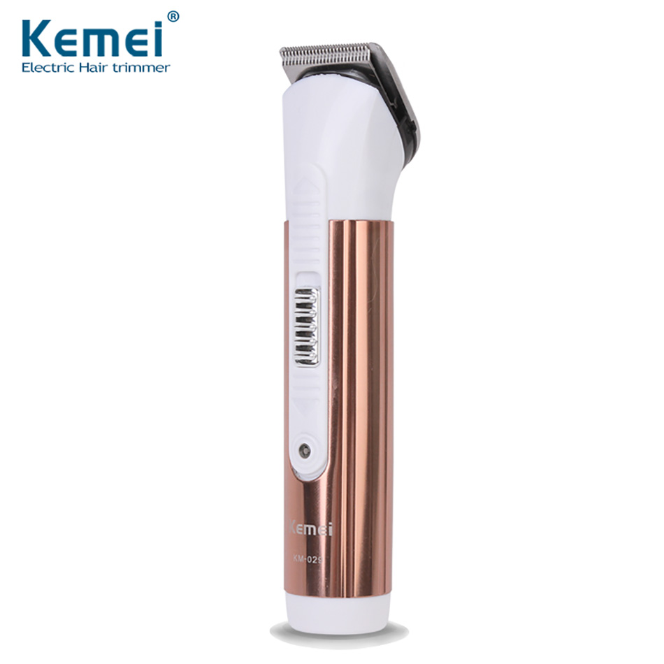 Kemei KM-029 Professional Rechargeable Electric Hair Clipper Hair Trimmer Shaver Razor Cordless Adjustable Clipper Free Shipping new brand kemei km a588 electric shavers razor blades travel use safety professional shaver for man maquina de afeitar electrica