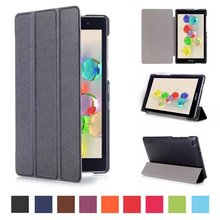 New Type three Folding Flip Pu Leather-based Case For ASUS ZenPad C 7.zero Z170C Z170CG Z171CG Sensible SleepWake Stand Pill PC Shell