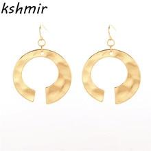 Ear ring wind tide geometric ms pendant earrings wholesale contracted