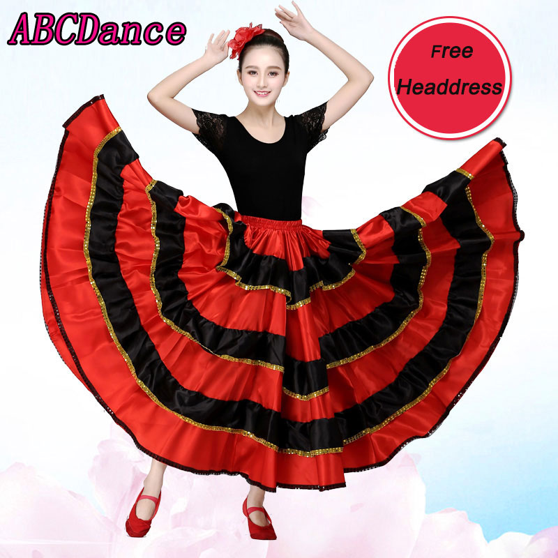 Flamenco Dance costume Spanish dance for women     professional Flamenco Dance Longuette