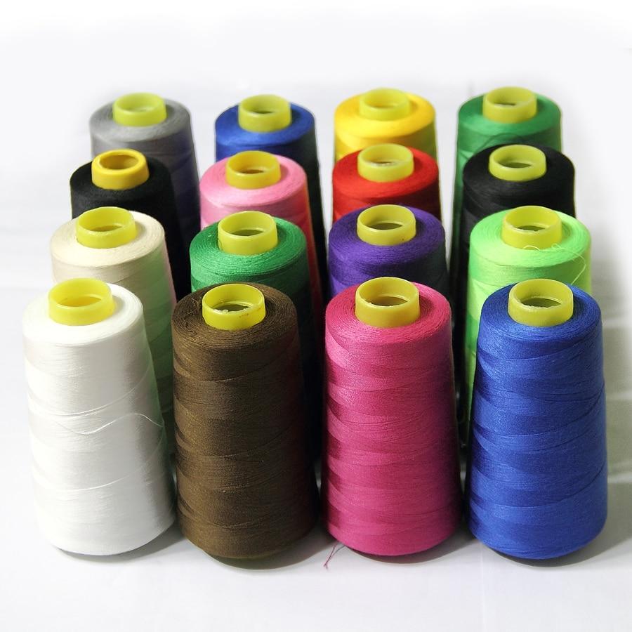 Ilmainen toimitus monivärinen Ompelukone linja teryleeni polyesteri - Taide, käsityöt ja ompelu - Valokuva 2