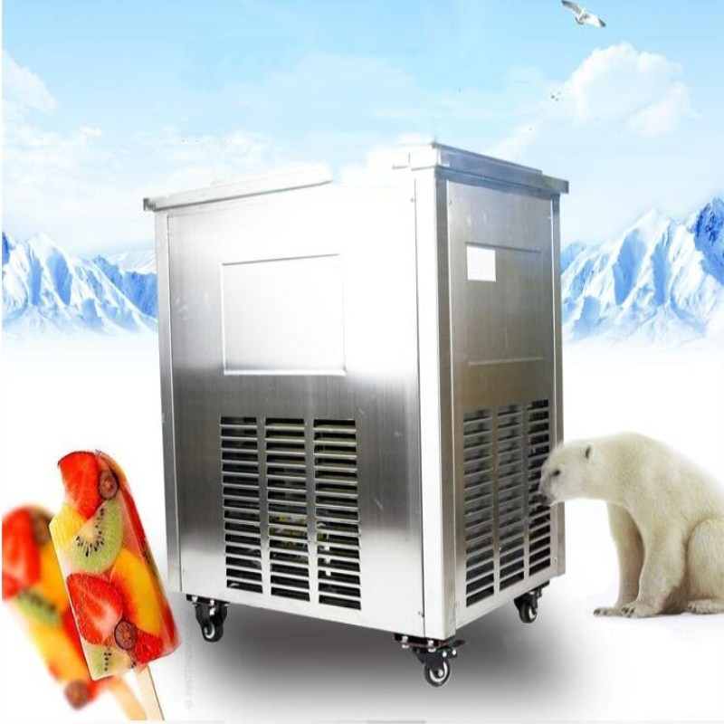 2017 cost-effective commercial ice cream machine,ice Popsicle machine,DIY fruit/milk ice lolly maker with import compressor edtid new high quality small commercial ice machine household ice machine tea milk shop