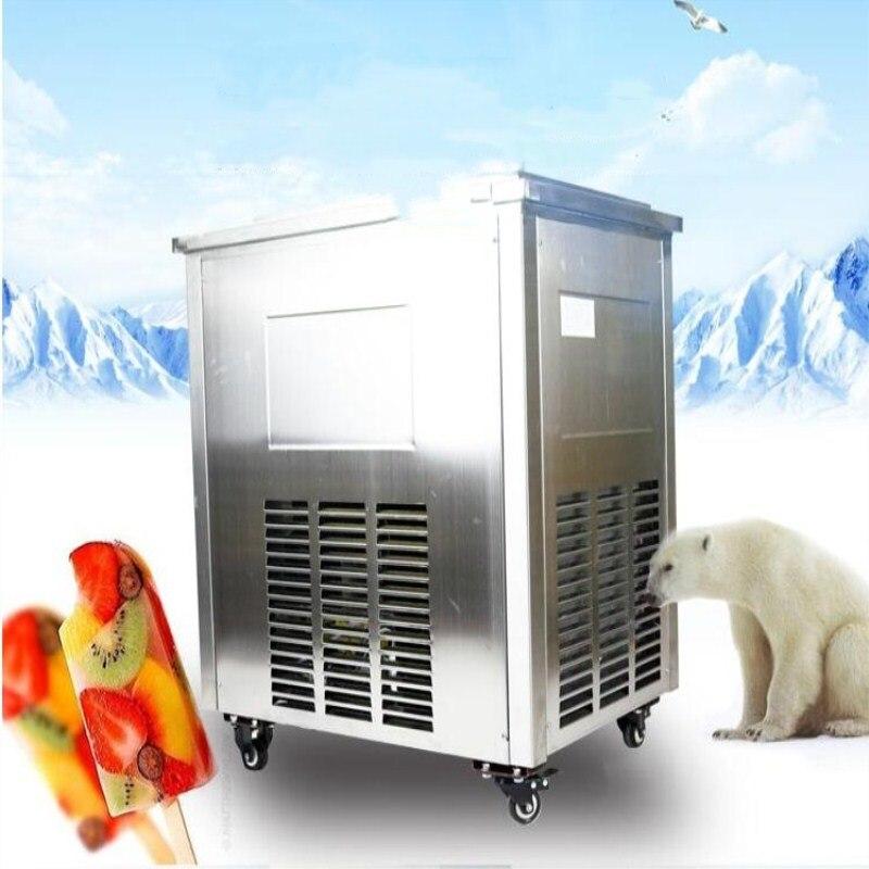 Machine commerciale rentable de crème glacée de 2017, machine de Popsicle de glace, fabricant de sucette glacée de fruit/lait de bricolage avec le compresseur d'importation