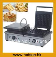 Hot Sale 2 Heads Square 220V Electric Classic Waffle Maker
