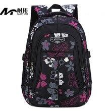Neue Floral Schultaschen Für Mädchen Rucksack Kinder Schultasche Grundschule Rucksack Qualität Nylon Warterproof Tasche Frauen Rucksack