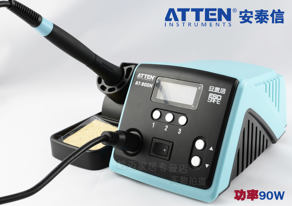 Atten At90dh Unleaded Antistatic Thermostatic Temperature Control Advanced Soldering Station