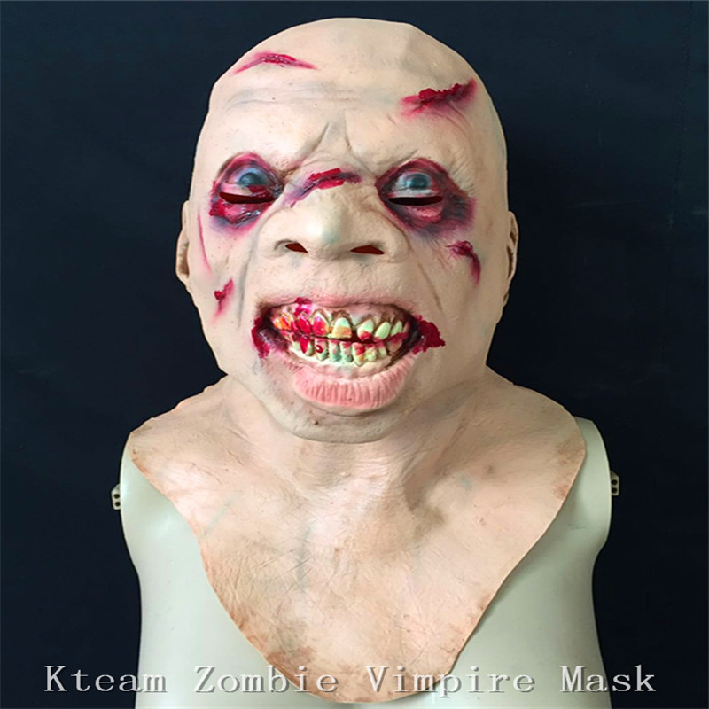 new demon parasite zombie mask latex vampire skull party halloween scary terror masks horror