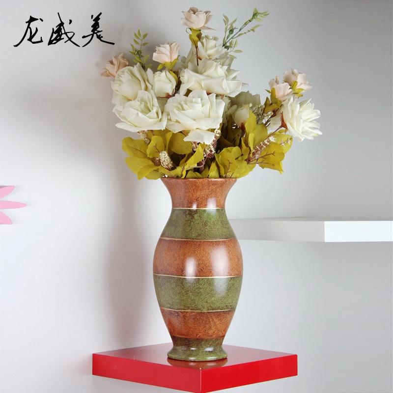 Foreign fashion handmade ceramic vase art D071035C home office DecorationForeign fashion handmade ceramic vase art D071035C home office Decoration