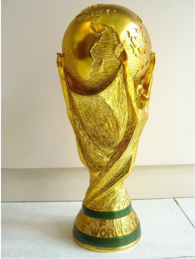 Free shipping full size 36cm brazil <font><b>world</b></font> trophy <font><b>cup</b></font> 2014 Football Champion Award