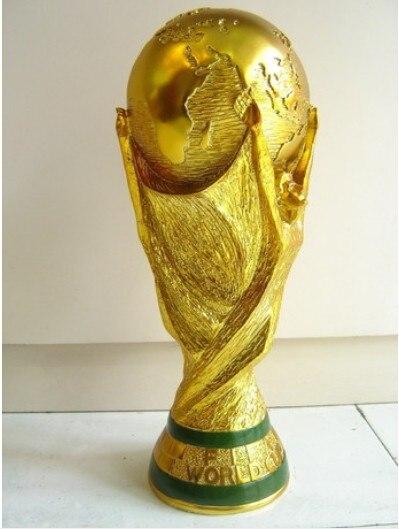 Free shipping full size 36cm <font><b>brazil</b></font> <font><b>world</b></font> trophy <font><b>cup</b></font> 2014 <font><b>Football</b></font> Champion Award