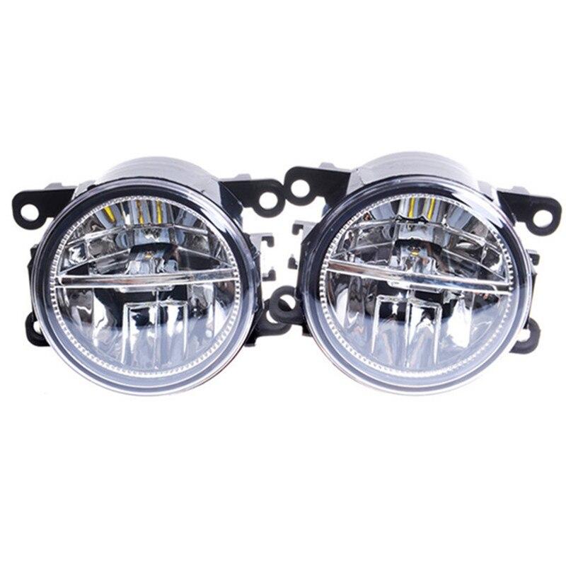 For Mitsubishi L200 OUTLANDER PAJERO GALANT Grandis 2003-2015 Car styling LED fog lights High power Fog lamps 1SET