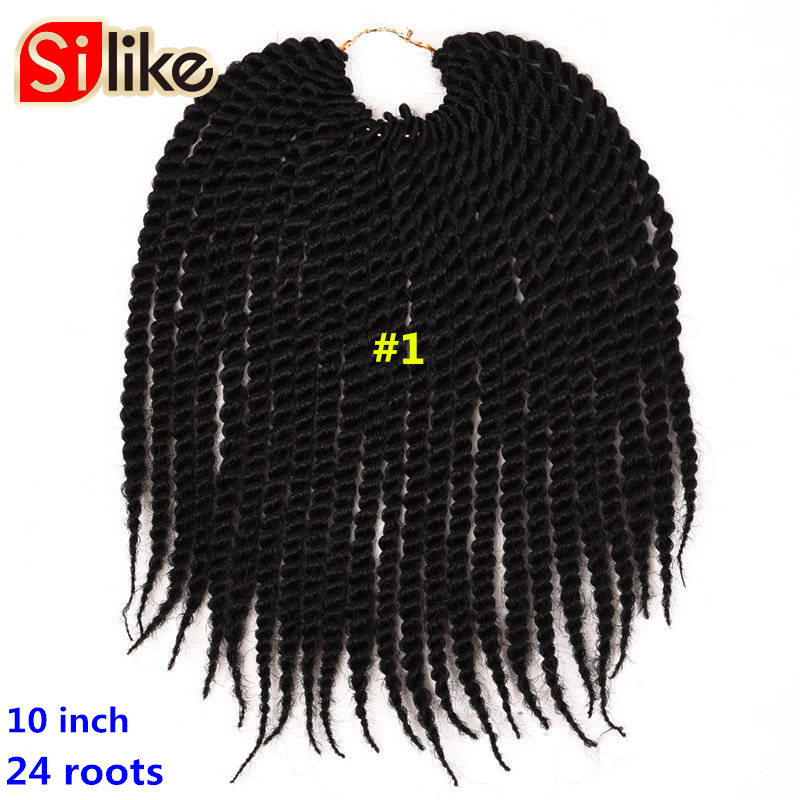 Silike 24rootspack ombre micro crochet senegalese twist braiding silike 24rootspack ombre micro crochet senegalese twist braiding hair extensions 10 kids black purple braids hair for children in senegalese twist braids pmusecretfo Choice Image