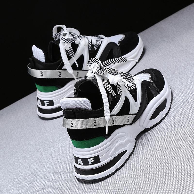 Mode Noir Air 2019 Offre Chaussures Automne Spéciale Zyyzym Appartements Plate Femmes multi blanc Mesh Printemps forme Sneakers Femme ZEqO7Hfw