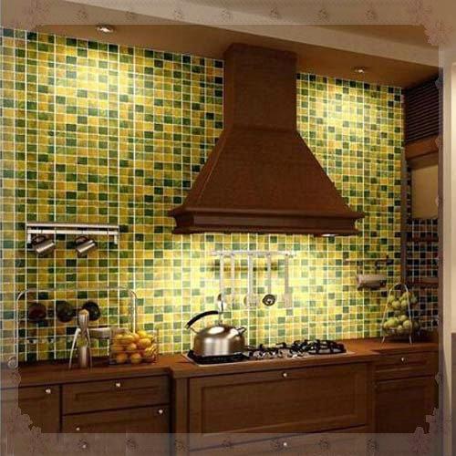 Vistoso Azulejo De La Cocina Verde Gris Componente - Ideas para ...