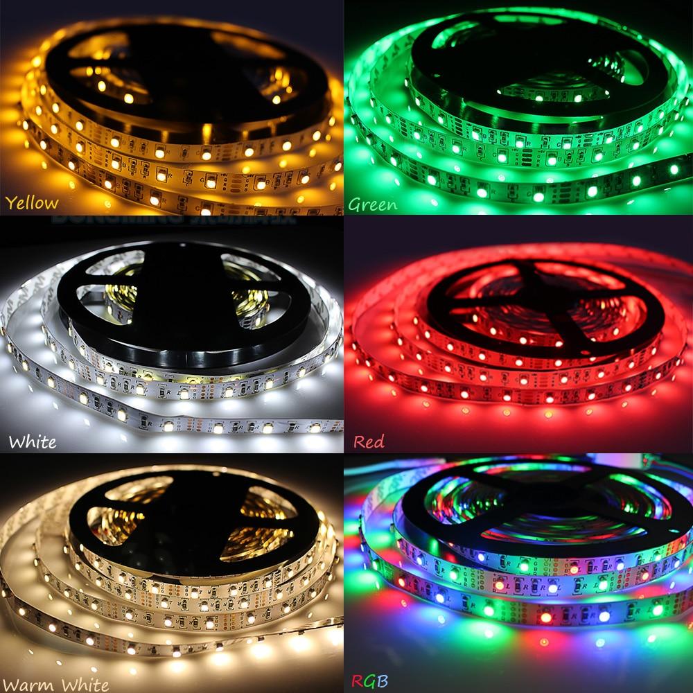 1M / 2M / 3M / 5M USB LED-es szalagfény 60leds / m DC 5v 3528 SMD - LED Világítás - Fénykép 5