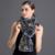 Top Animais Lenço da Pele do Rex Pele De Coelho Flor Requintado Cachecol Nó Impedido Frio Senhoras Elegantes Mulheres Moda Estilo Longo Lenço