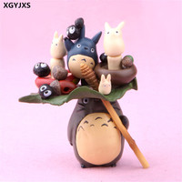 14 cm totoro child the gift of the Japanese cartoon dolls PVC figure X49 collection action