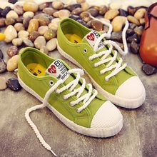 Women shoes 2019 new lace-up sewing sneakers women canvas shoes spring summer white ladies shoes woman tenis feminino