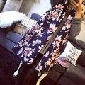 2016 El Más Nuevo Diseño Bandana de Impresión Mujeres Bufanda de Invierno Bufandas Chales Espesar Caliente de imitación de la Cachemira Bufanda de Marca Mujer Abrigo