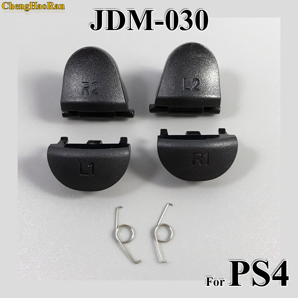 ChengHaoRan 1set Replacement JDS 030 JDM 030 For Playstation 4 Controller L2 R2 L1 R1 Springs For PS4 Trigger Button-in Replacement Parts & Accessories from Consumer Electronics