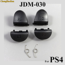 ChengHaoRan 1set Replacement JDS 030 JDM-030 For Playstation 4 Controller L2 R2 L1 R1 Springs PS4 Trigger Button