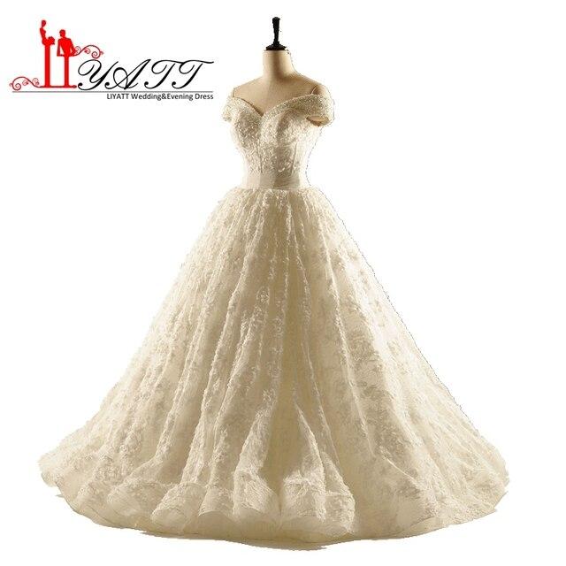 Liyatt 2017 Vestido de Noiva Princesa Brautkleid China Vintage ...