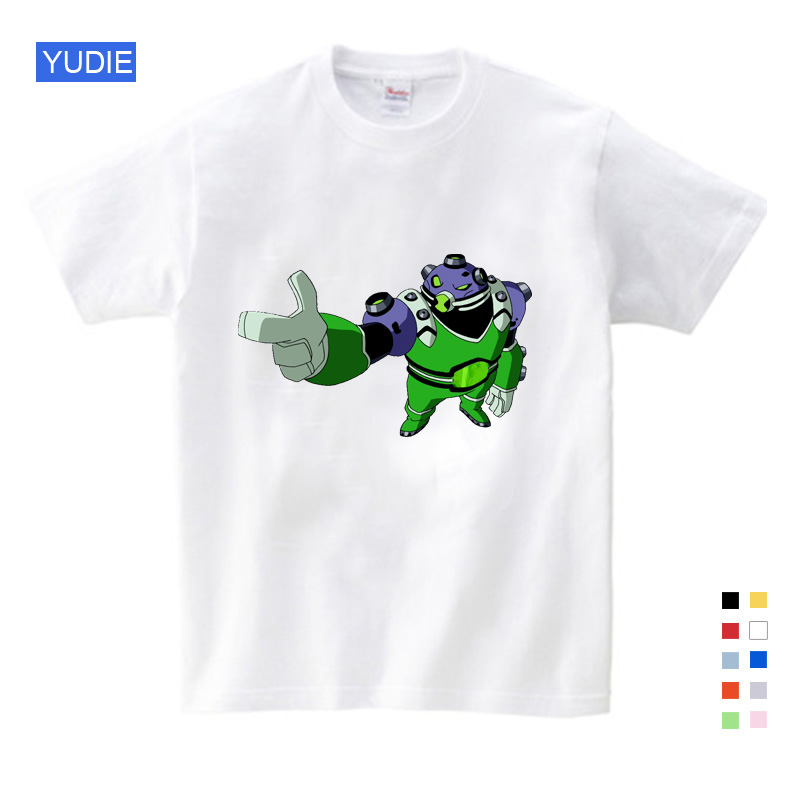 Kids Summer Children T Shirts Cotton Short Sleeve Ben 10 Earth Protector Clothes Clothing