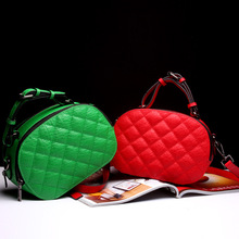 New Europe and the American Style women genuine leather handbags fashion leather bag simple wild shoulder