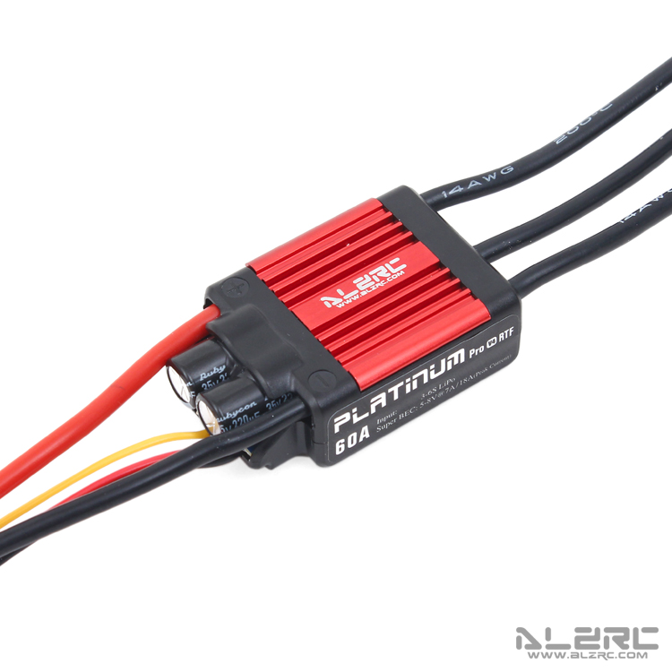 ALZRC - Brushless ESC - Platinum - 60A V4 Brushless ESC For RC Heli Multicopter luxberry комплект постельного белья синички