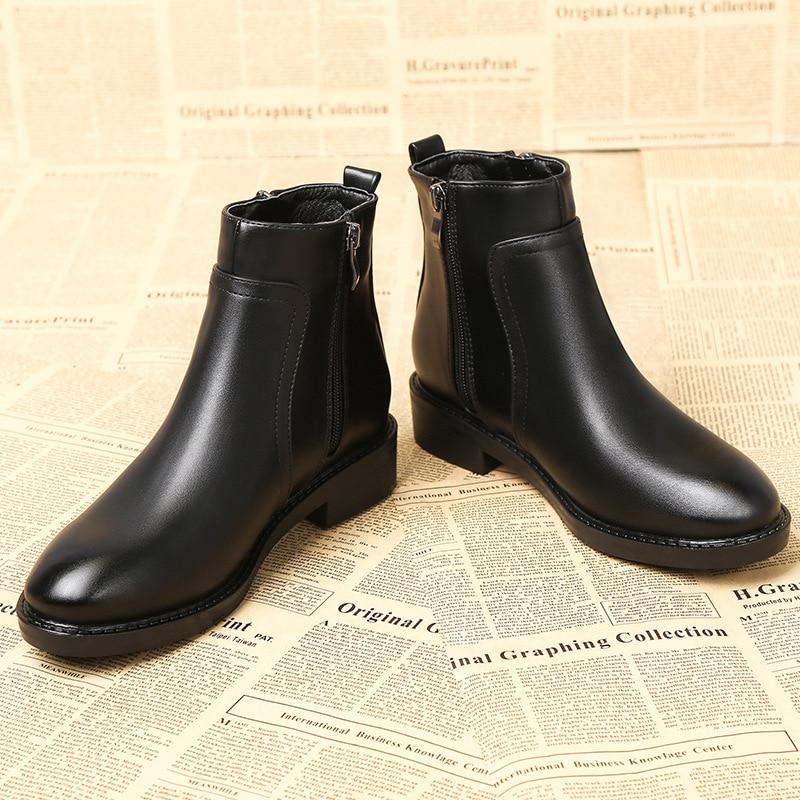 Fluff Chelsea Llegada Otoño Calzado Venta Mujer Cuadrado long Microfibra En Deslizamiento Fluff De Short Zapatos Tacón Cuero Botas Invierno 2019 Caliente 4zSwUS