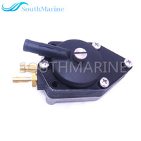 0438555 438555 0433386 433386 Fuel Pump for Johnson Evinrude OMC BRP 20 30hp Boat Motor Small Nipple ,Free Shipping